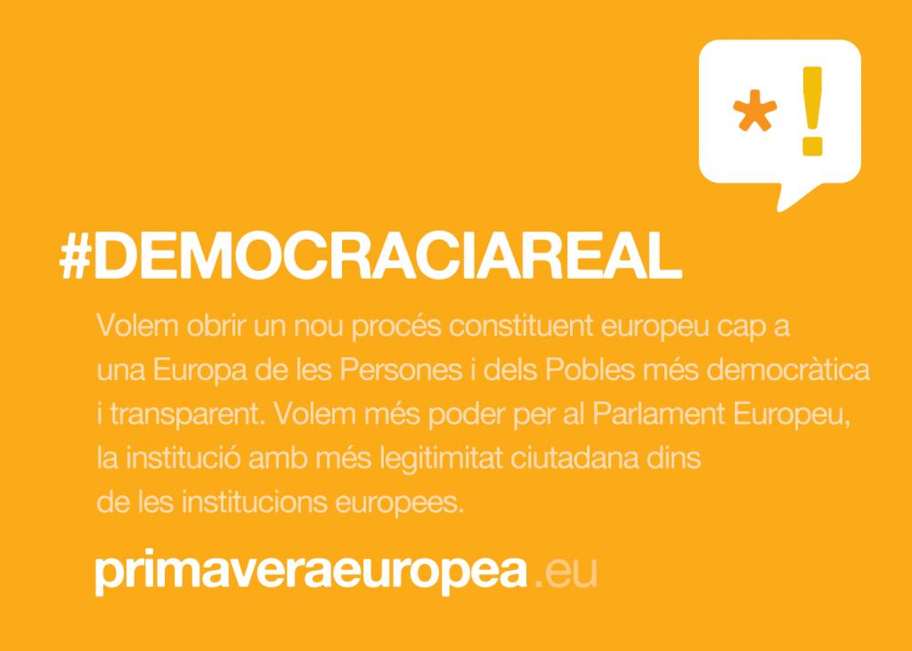 #DEMOCRACIAREAL