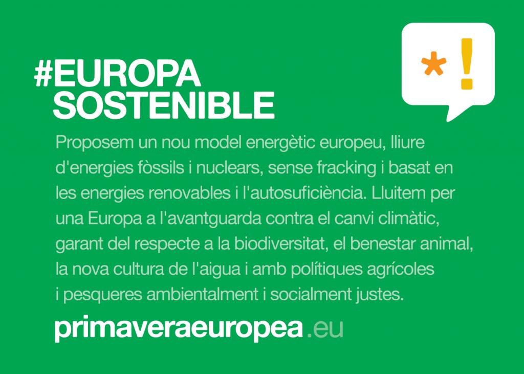 #EUROPASOSTENIBLE